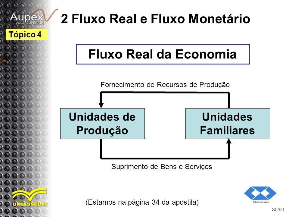 2 Fluxo Real e Fluxo Monetário