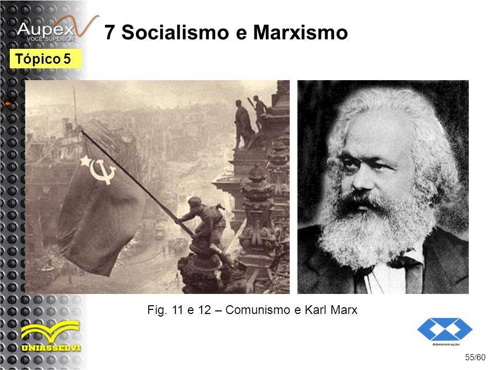 Fig. 11 e 12 – Comunismo e Karl Marx