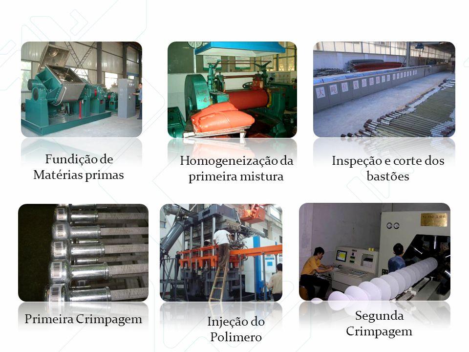 Fundição de Matérias primas Homogeneização da primeira mistura