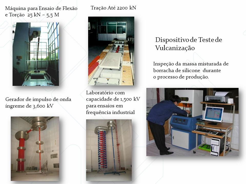 Dispositivo de Teste de Vulcanização