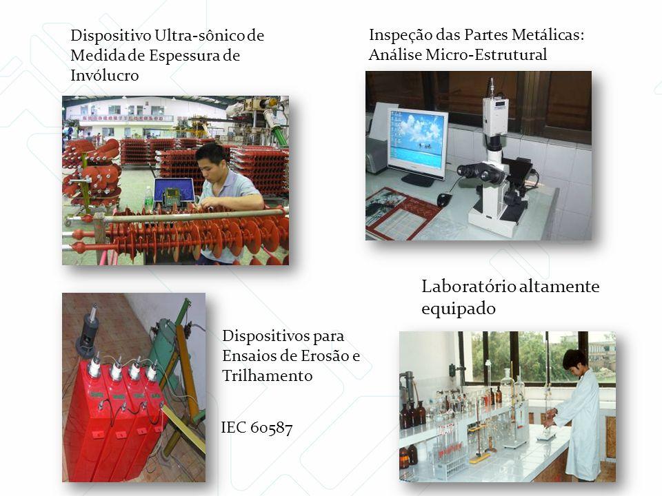Laboratório altamente equipado