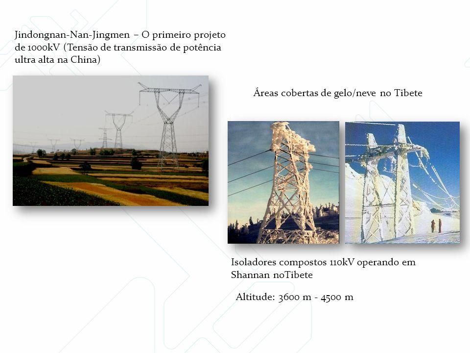 Jindongnan-Nan-Jingmen – O primeiro projeto de 1000kV (Tensão de transmissão de potência ultra alta na China)