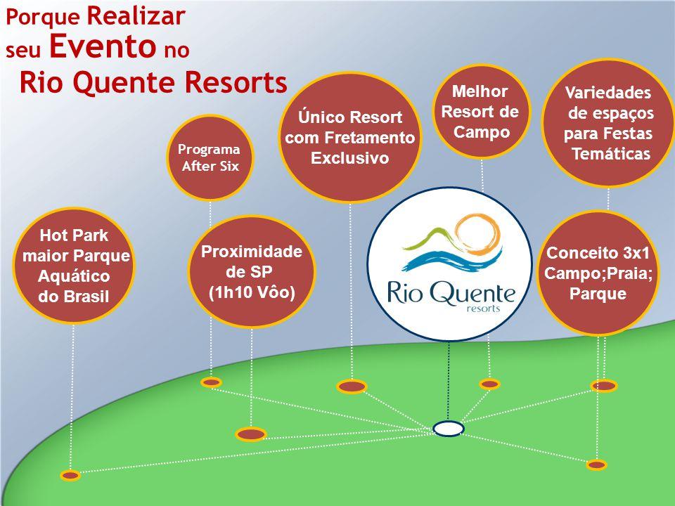 Porque Realizar seu Evento no Rio Quente Resorts Variedades de espaços