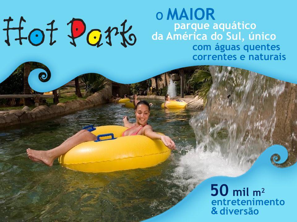 50 mil m2 O MAIOR parque aquático da América do Sul, único