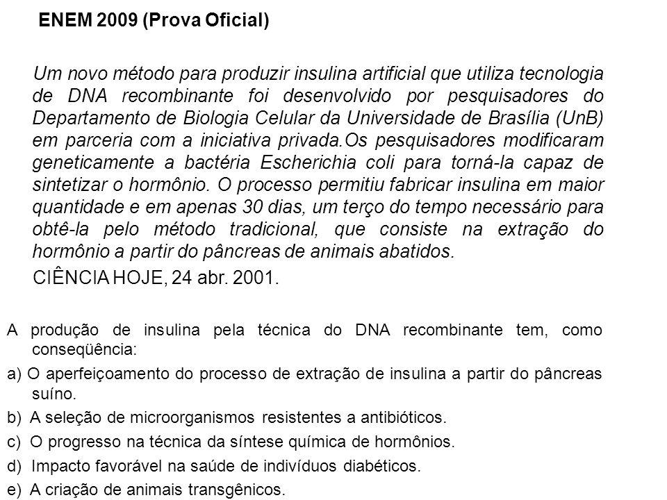 ENEM 2009 (Prova Oficial)
