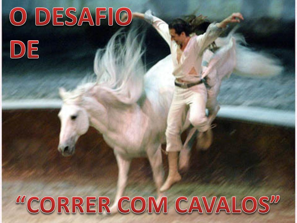 O DESAFIO DE CORRER COM CAVALOS