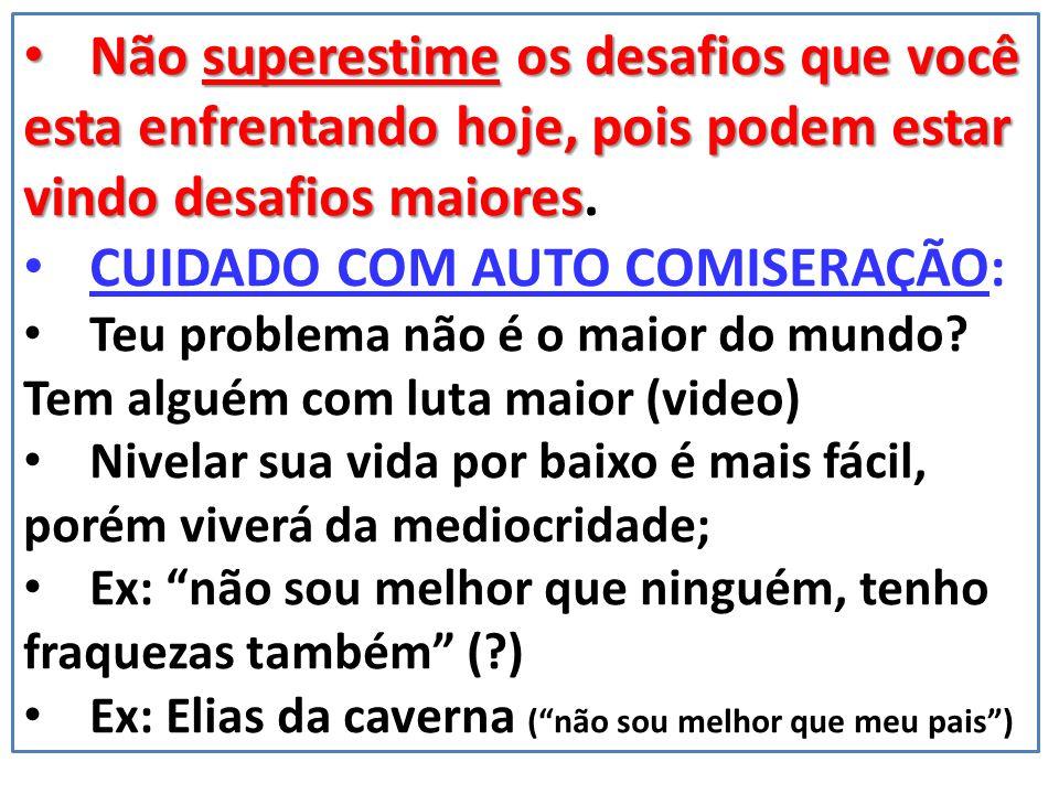 SE VOCÊ SE SENTE INFERIOR DIANTE DE TEU IGUAL ( ),