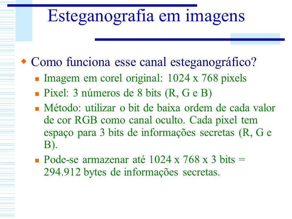 Esteganografia em imagens