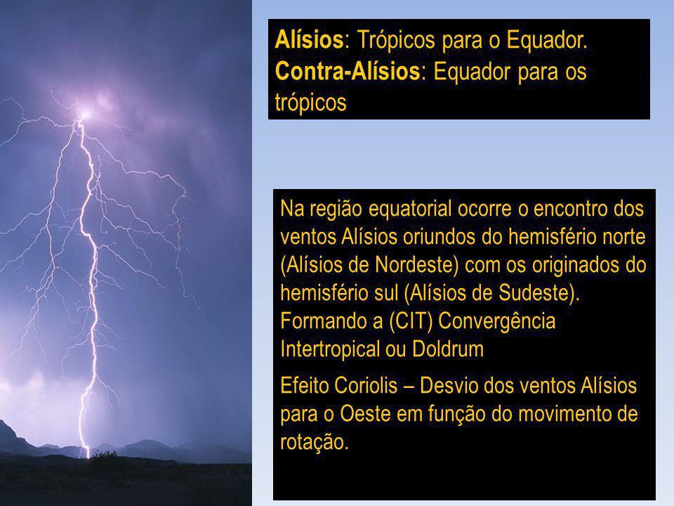 Alísios: Trópicos para o Equador