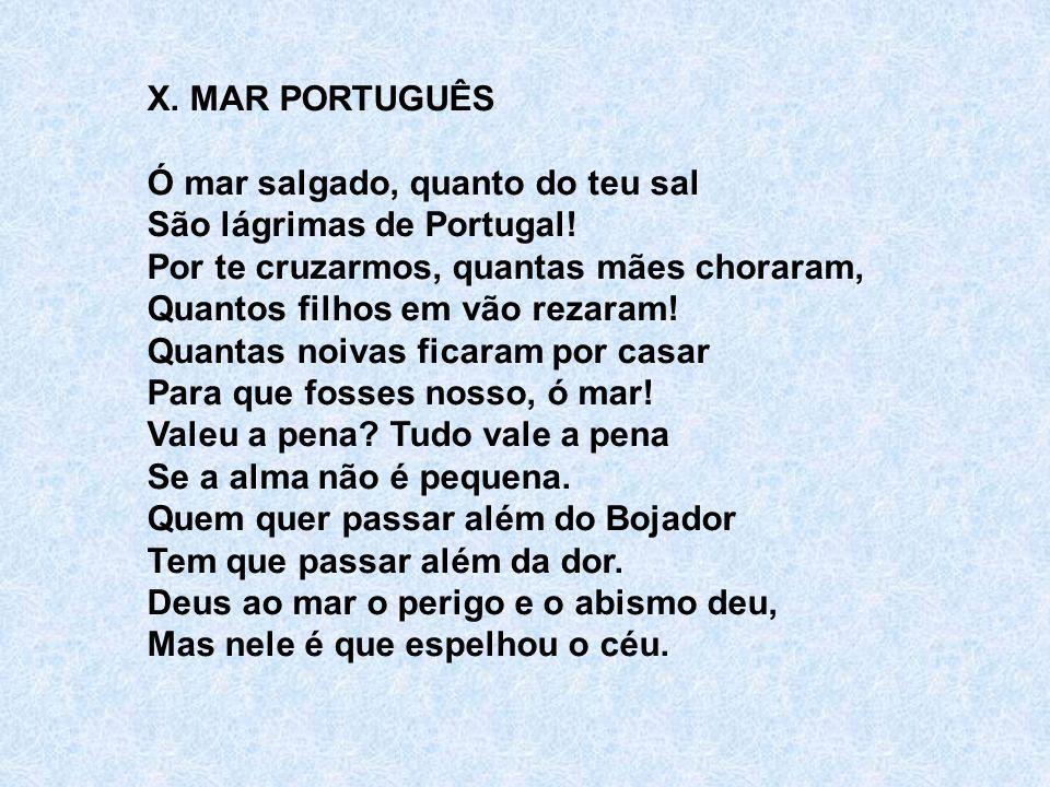 X. MAR PORTUGUÊS