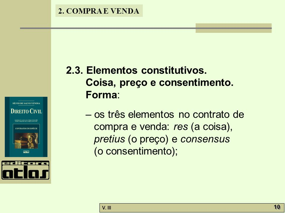 2.3. Elementos constitutivos.