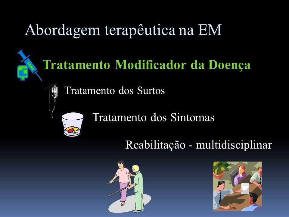 Abordagem terapêutica na EM