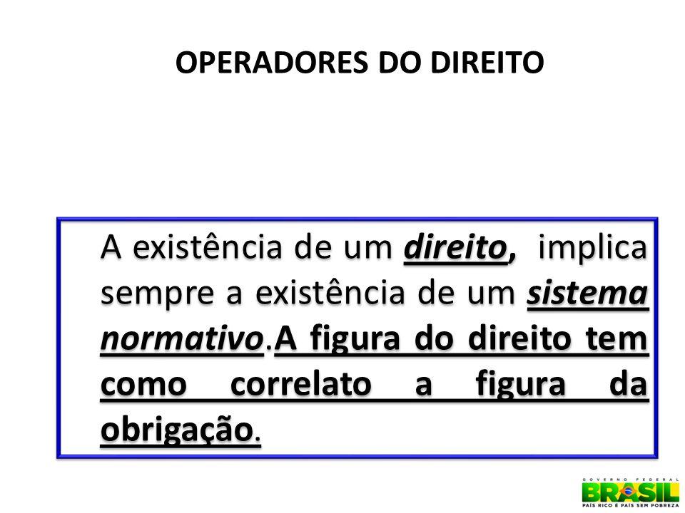 OPERADORES DO DIREITO