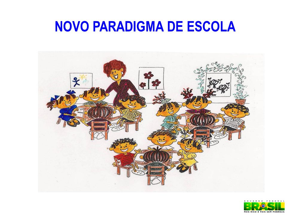 NOVO PARADIGMA DE ESCOLA