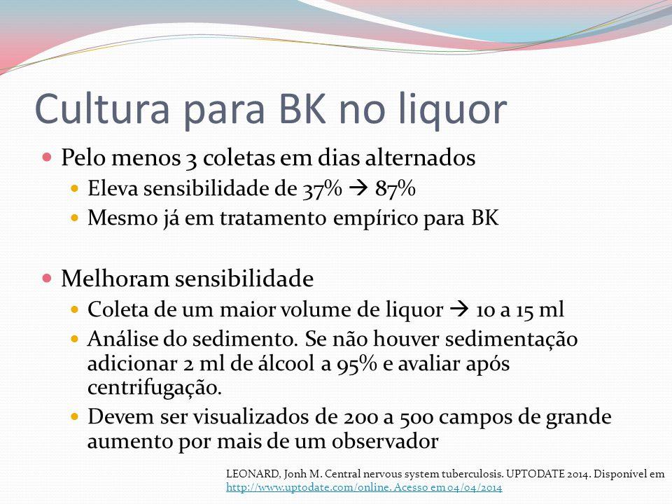 Cultura para BK no liquor
