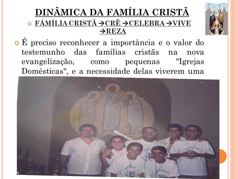 DINÂMICA DA FAMÍLIA CRISTÃ