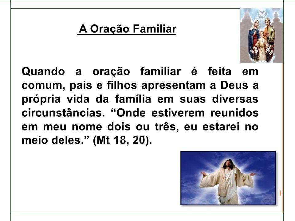 A Oração Familiar