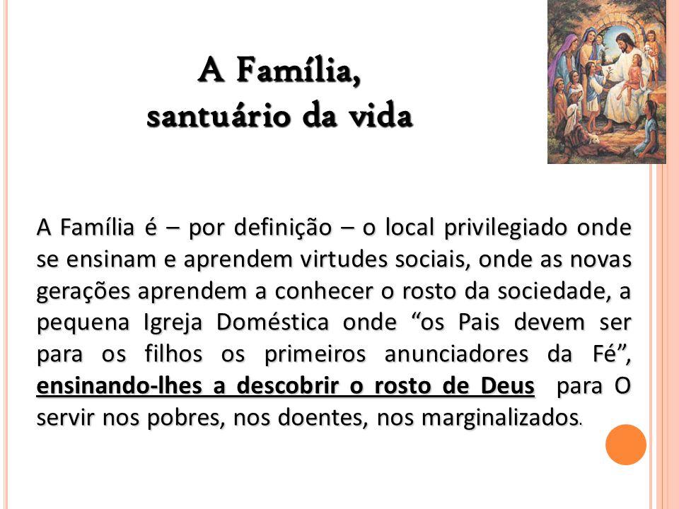 A Família, santuário da vida