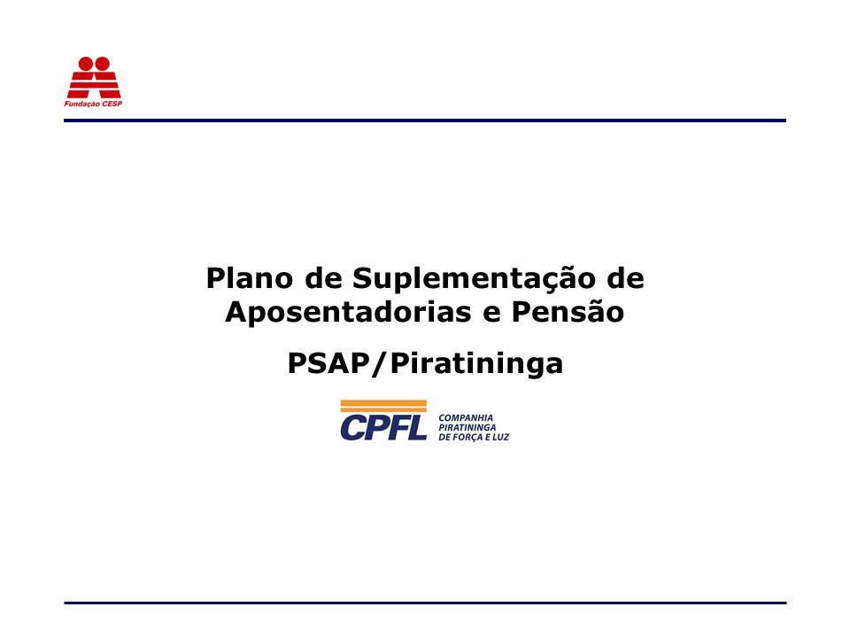 Plano de Suplementação de Aposentadorias e Pensão