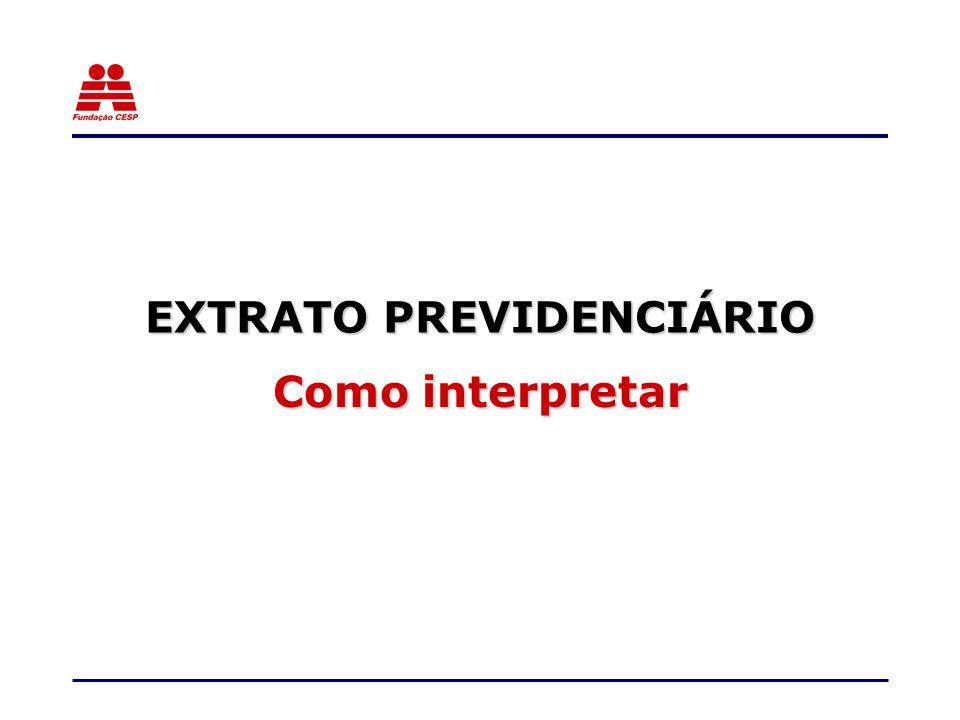 EXTRATO PREVIDENCIÁRIO