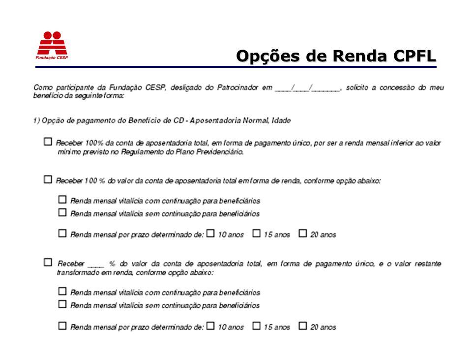 Opções de Renda CPFL