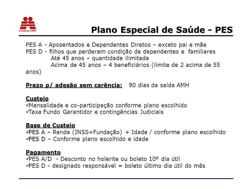 Plano Especial de Saúde - PES