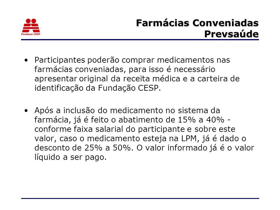 Farmácias Conveniadas Prevsaúde