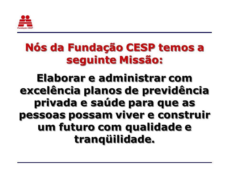 Nós da Fundação CESP temos a seguinte Missão: