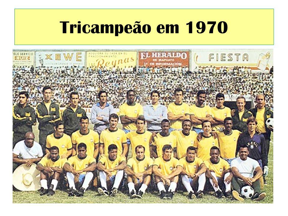Tricampeão em 1970