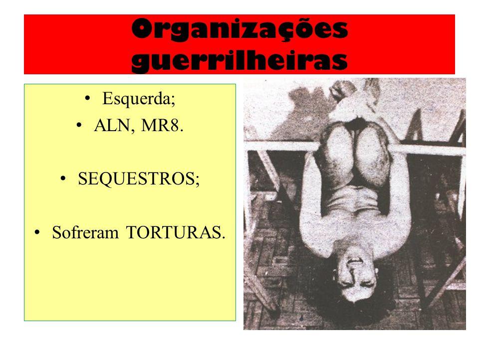 Organizações guerrilheiras