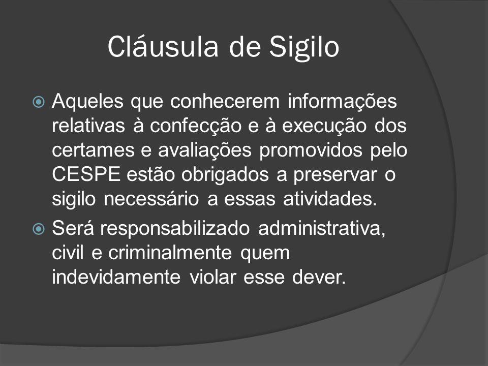 Cláusula de Sigilo