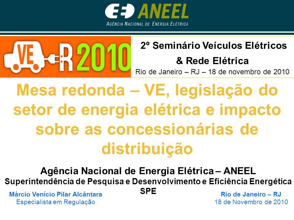 2º Seminário Veículos Elétricos & Rede Elétrica