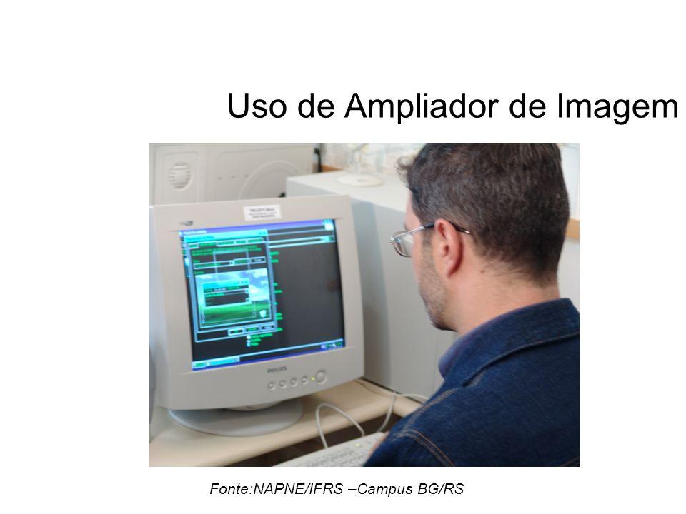 Uso de Ampliador de Imagem