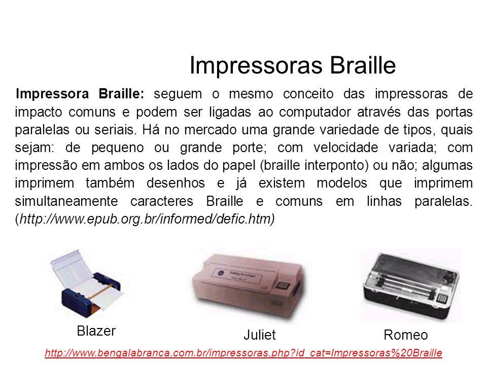 Impressoras Braille
