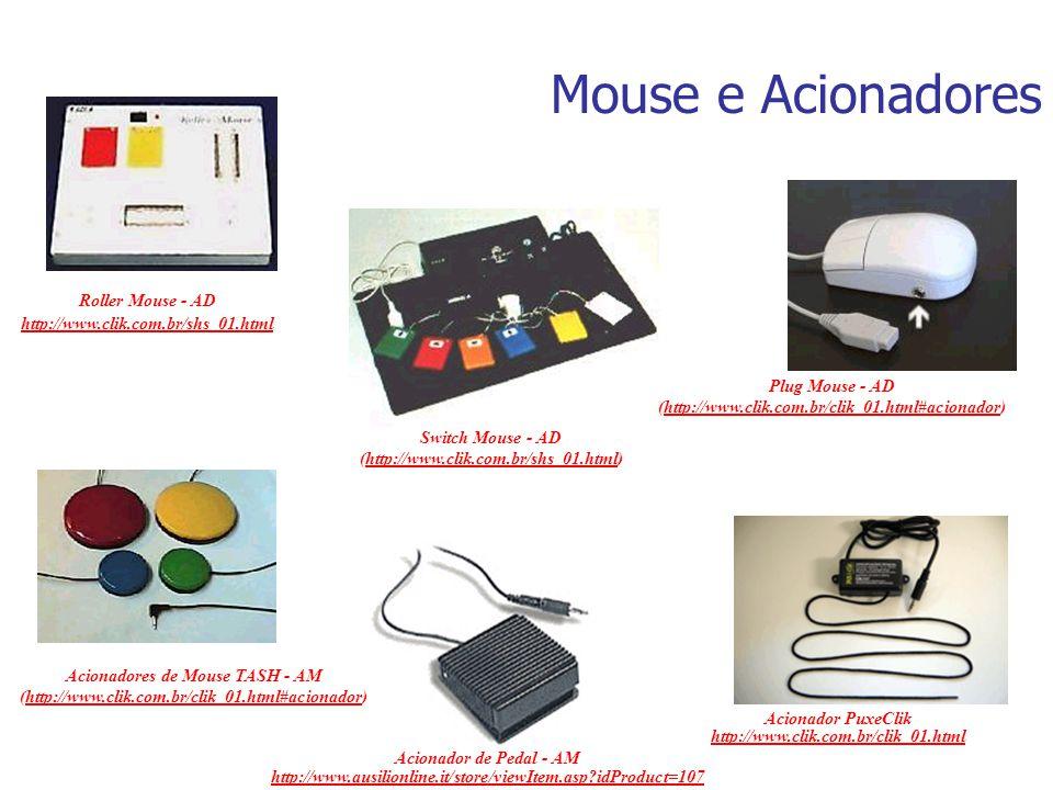 Acionadores de Mouse TASH - AM