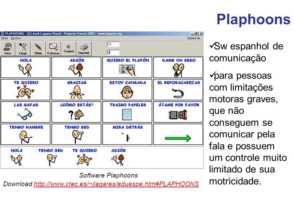 Plaphoons Sw espanhol de comunicação