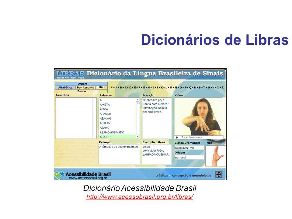 Dicionário Acessibilidade Brasil