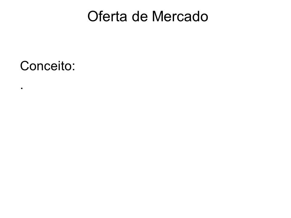 Oferta de Mercado Conceito: .