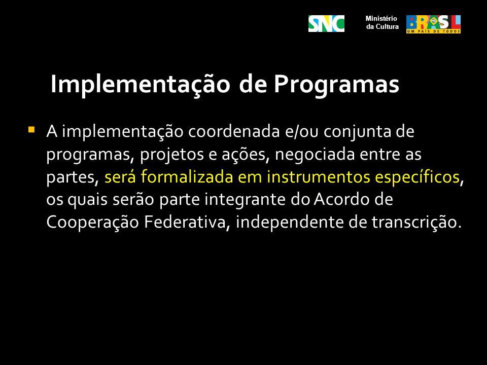Implementação de Programas
