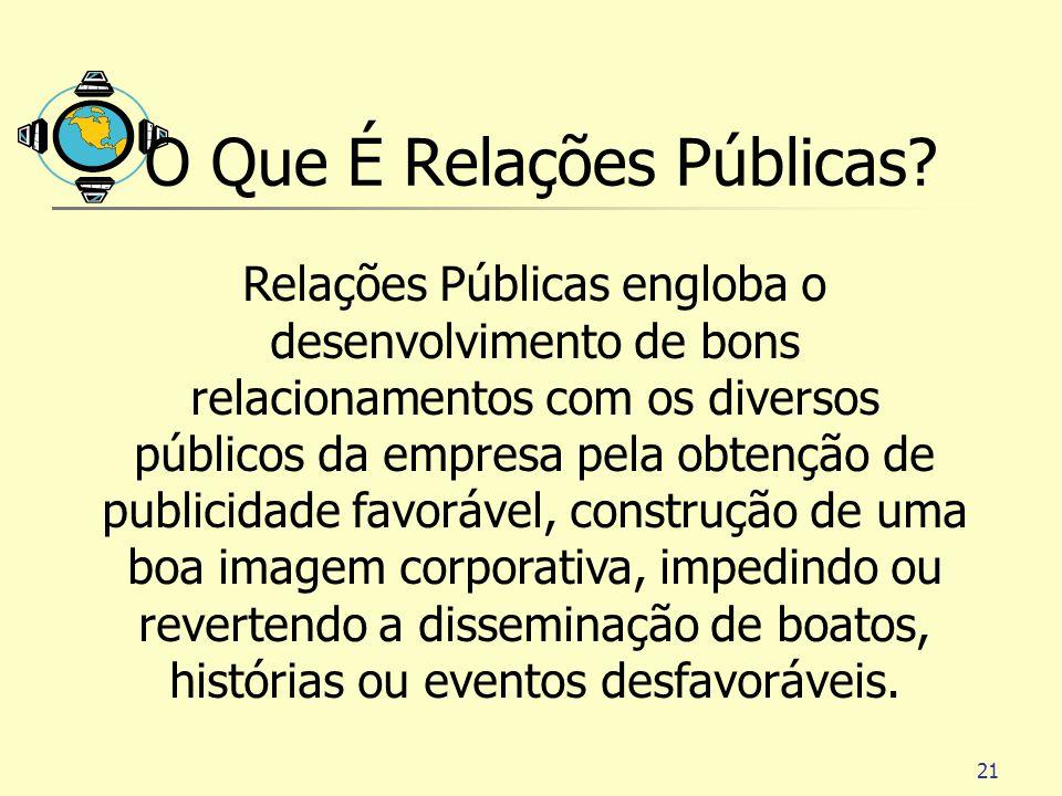O Que É Relações Públicas