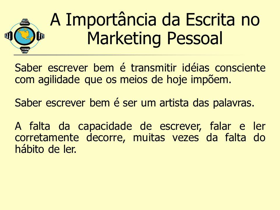 A Importância da Escrita no Marketing Pessoal