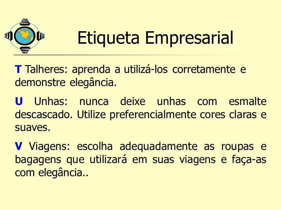 Etiqueta Empresarial T Talheres: aprenda a utilizá-los corretamente e demonstre elegância.