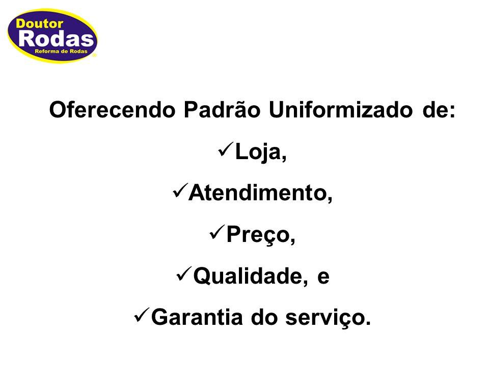 Oferecendo Padrão Uniformizado de: