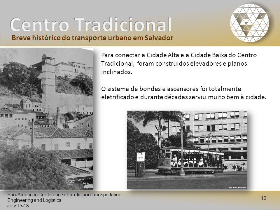 Centro Tradicional Breve histórico do transporte urbano em Salvador
