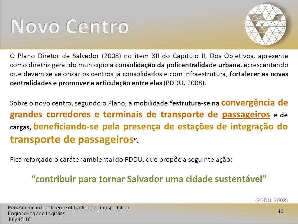 contribuir para tornar Salvador uma cidade sustentável