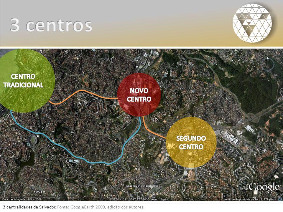 3 centros CENTRO TRADICIONAL NOVO CENTRO SEGUNDO CENTRO
