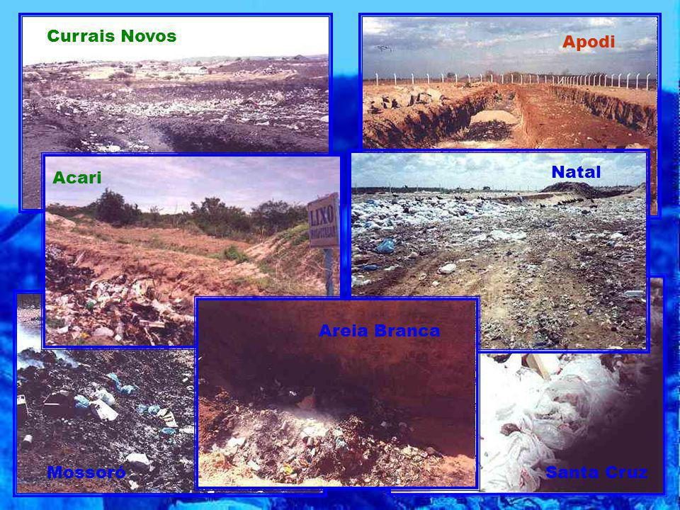 Currais Novos Apodi Natal Acari Areia Branca Mossoró Santa Cruz