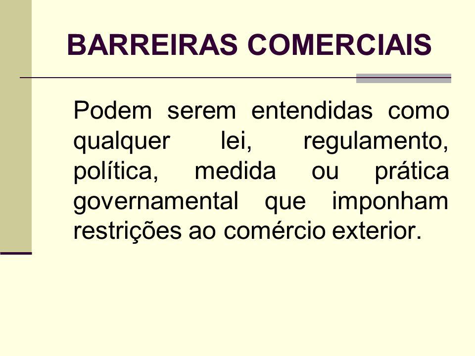 BARREIRAS COMERCIAIS