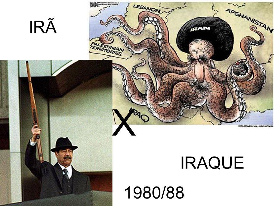 IRÃ X IRAQUE 1980/88