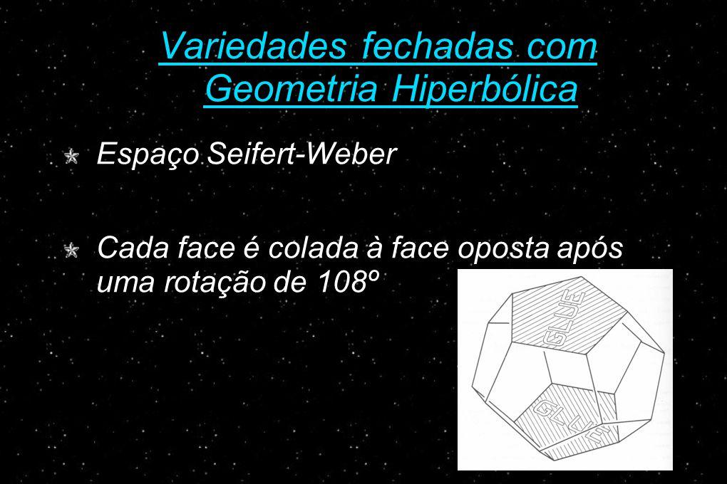 Variedades fechadas com Geometria Hiperbólica
